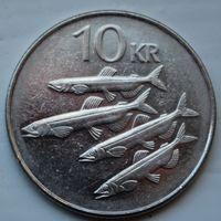 Исландия, 10 крон 2005 г
