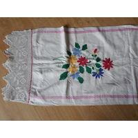 Рушники, вышивка, ткачество времен СССР