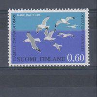 [1152] Финляндия 1974.Фауна.Птицы.