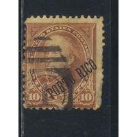 США Колонии Пуэрто-Рико 1899 Надп #172