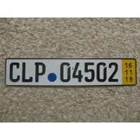 Автомобильный номер Германия CLP04502