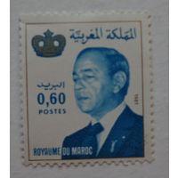 Марокко.1981.король Хассан II