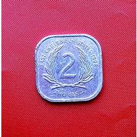 81-20 Карибы, 2 цента 1998 г.