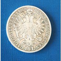 1флорин 1858 В