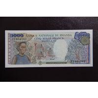 Руанда 5000 франков 1988 UNC