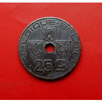 49-03 Бельгия, 25 сантимов 1942 г. Французский тип