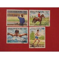 Конго 1988г. спорт