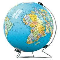 """Паззл-шар """" Глобус со стойкой """"540 эл.Равенсбургер(Германия)с нанесенной картой Земного шара+подарок"""