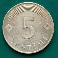 5 сантимов 2007 ЛАТВИЯ