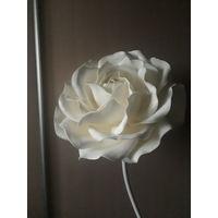Светильник  роза. Торшер или бра . 55 см диаметр.