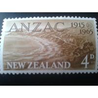 Новая Зеландия 1965 военный блок ANZAC