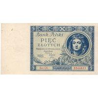 Польша, 5 злотых,1930 г.