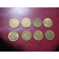 5 пиастров 2004 год Египет