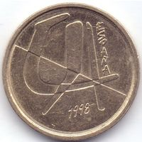 Испания, 5 песет 1998 года.
