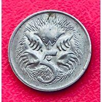 04-22 Австралия, 5 центов 1974 г.