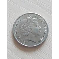 Австралия 5 центов 1999г.