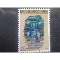 Исландия 1974 мозаика