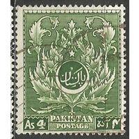 Пакистан. Национальный орнамент. 1951г. Mi#58.