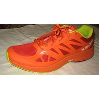 Кроссовки мужские SALOMON SONIC AERO быстрые и легкие тренировочные кроссовки с плавным перекатом и отличной посадкой. Размер : UK-11,EUR-46, USA-11.5, Japan-29.5, Длина стельки-29,5 см Особенности:
