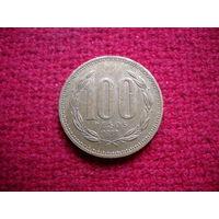 Чили 100 песо 1998 г.