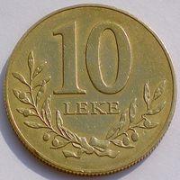 Албания, 10 лек 1996 года, KM#77