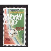 Армения-1998,(Мих.334)  ** Спорт, ЧМ-1998 по футболу