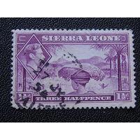 Британская Сьерра- Леоне 1938 г.