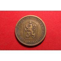 1 крона 1963. Чехословакия.
