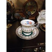 Смотрите все мои лоты! Много с рубля! Рождественский Аукцион лот: 139 Чайная пара Клейма, без МЦ С рубля