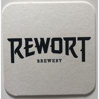 Подставка под пиво пивоварни Rewort Brewery /Россия/