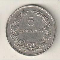 Греция 5 драхма 1930