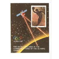 Гайана /1987/ Летние олимпийские игры / Корея -1988 / Сеул / Античность / Блок.
