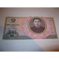 Северная Корея 100 вон 1978г.