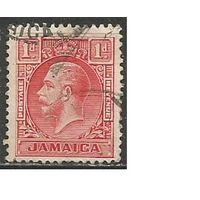 Ямайка. Король Георг V. 1912г. Mi#58в.