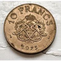 Монако 10 франков, 1975  3-4-5