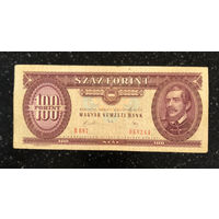 Венгрия 100 форинтов 1989 год (Лайош Кошут) Венгерский национальный банк