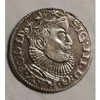3 гроша 1589 Рига R4.С 1руб,без МЦ.