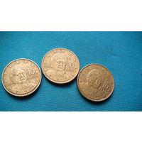 Греция 10 центов 2002г. распродажа