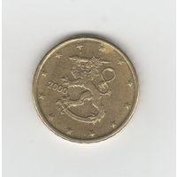 10 евроцентов Финляндия 2000 Лот 2747