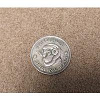 Австралия 1 шиллинг 1952 Серебро Георг VI
