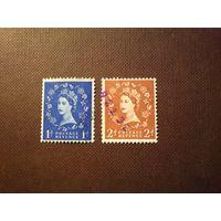Великобритания 1955/57 гг .Стандарты .Елизавета -II