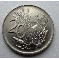 20 центов 1984 года ЮАР - из коллекции