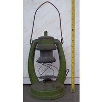 Лампа старинная керосиновая
