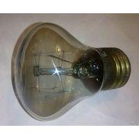 СССР: лампа с латунным цоколем, 220в/25вт, выпущена II-62