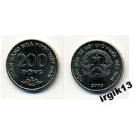 200 донгов 2003 года. Вьетнам