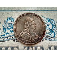 Монета РИ, 1 рубль 1791.