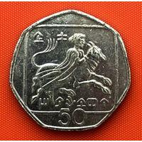 111-02 Кипр, 50 центов 1994 г.