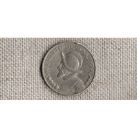 Панама 25 сентесимо 1/4 бальбоа 1983 //(D)