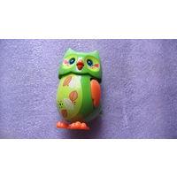 Сова игрушечная, со звуком и движениями. распродажа