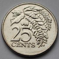 Тринидад и Тобаго, 25 центов 2003 г